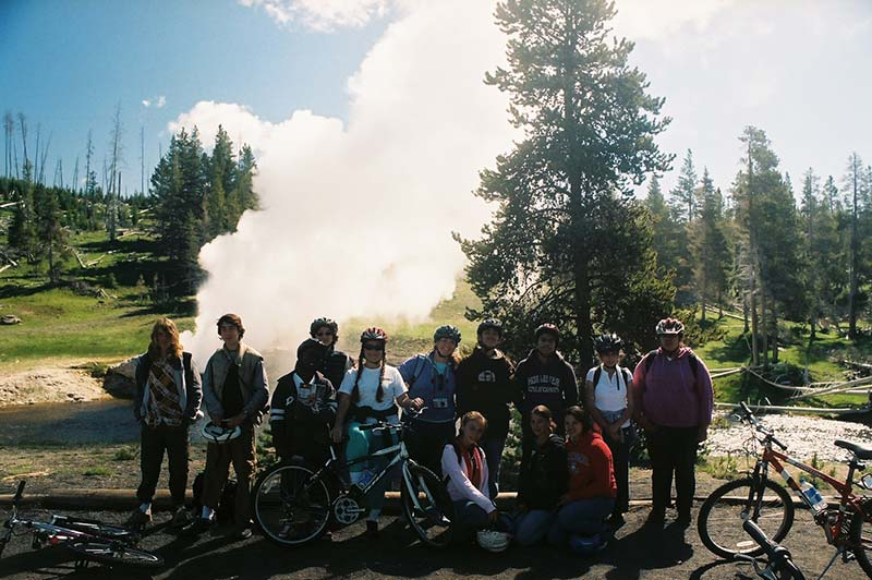 Yellowstone tour group photography