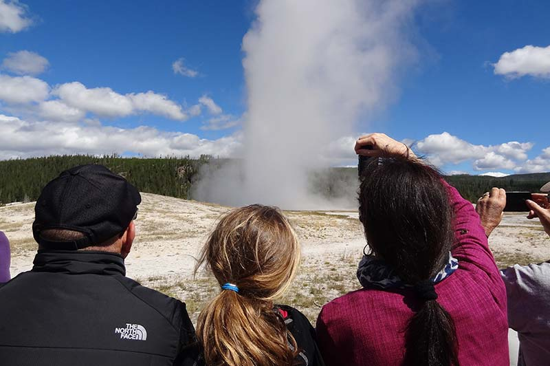 People photography at Yellowstone