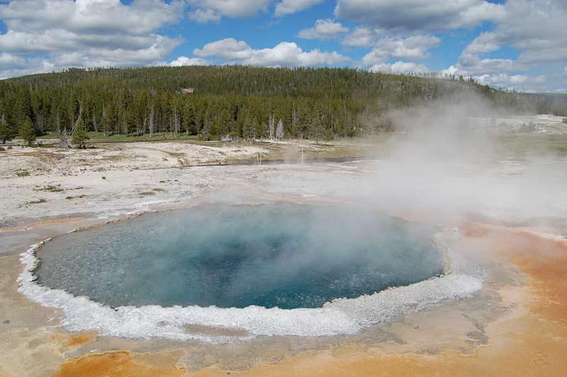 Yellowstone prismatic spring